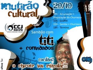 mutirão cultural CCJ
