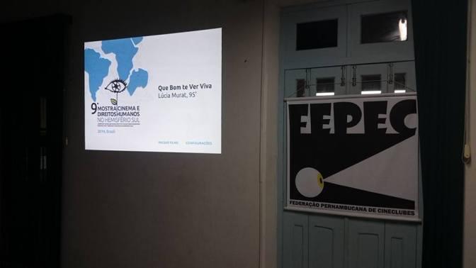 FEPEC na Mostra Cinema e Direitos Humanos no Hemisfério Sul 2015